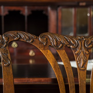 Fine George II Chippendale Mahogany Side Chair
