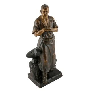 Terracotta Figure of a Blacksmith