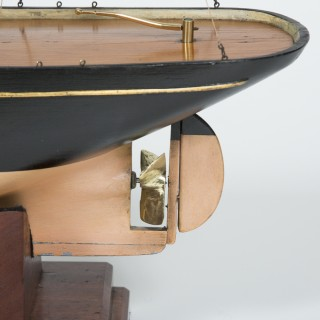 class 1 model of a single screw steamboat by Steven's Model Dockyard
