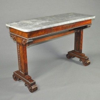 Regency Marble top Hall or Centre Table