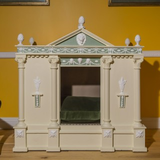 Antique Dog House in the Neoclassical Style