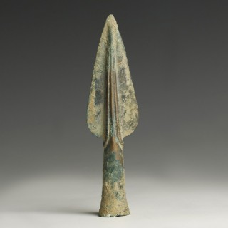 Bronze Age Decorated Spearhead