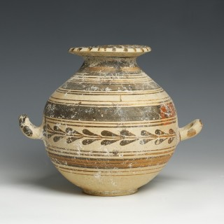 Italic Tribes Daunian Pottery Stamnos