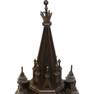 French Gothic Revival Bracket Clock