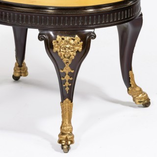 A fine Victorian mahogany wine cooler attributed to Gillows