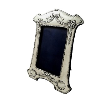 Antique Edwardian Sterling Silver Photo Frame 1907