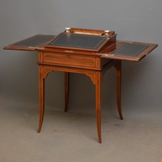 Edwardian Mahogany Writing Table by Maple & Co