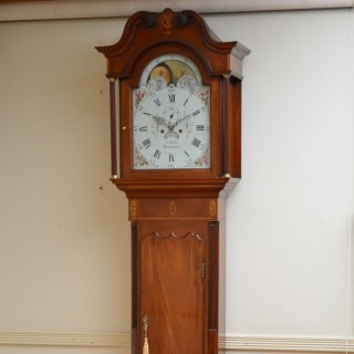 George III Longcase Clock by J. Wilde, Macclesfiel
