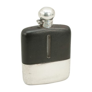 Silver Plate Hip Flask