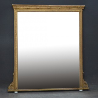 Large Regency Gilt Mirror