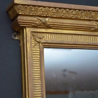 Large Regency Gilt Mirror