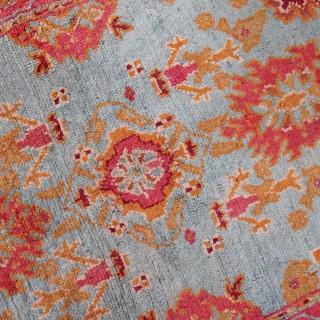 Rare Antique Oushak rug, Anatolia