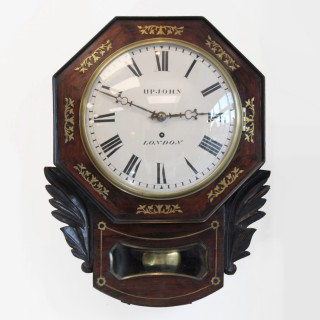 Drop Dial fusee Wall clock by Upjohn, London