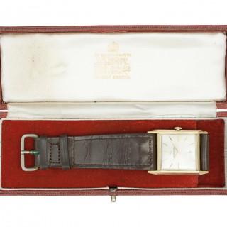 9ct Gold Men's Wrist Watch, Garrard 1964