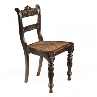 INDIAN CALAMANDER SIDE CHAIR