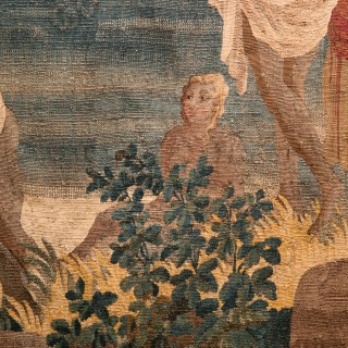 'LE SOIR' 18TH CENTURY TAPESTRY AFTER JOSEPH VERNET