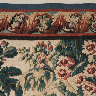 18TH CENTURY AUBUSSON TAPESTRY AFTER J.B. PILLEMENT