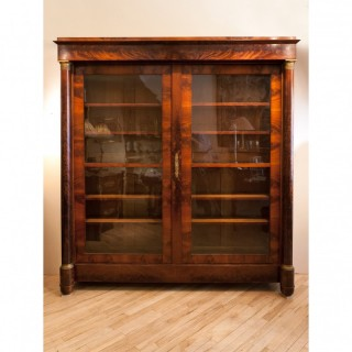 FRENCH RESTAURATION BOOKCASE. Circa 1825