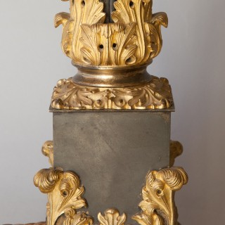 LARGE AND ORNATE 19TH CENTURY CARCEL LAMP