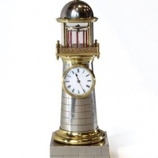 Guilmet Automaton Lighthouse Clock, c.1900