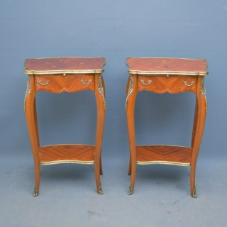 Pair of French Bedside Tables in Kingwood