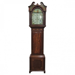 George IV Mahogany Longcase Clock by J Dodds of Wigton