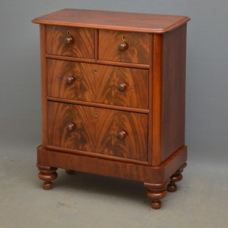 Small Victorian Mahogany Chest of Drawers