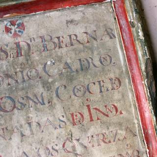 A 17thC Italian Framed Alter Devotional Fragment