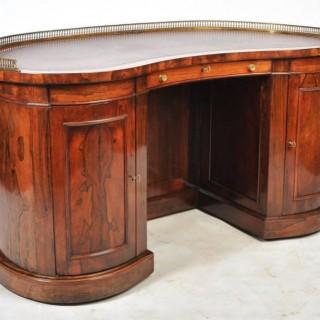 Regency Kidney shape Desk