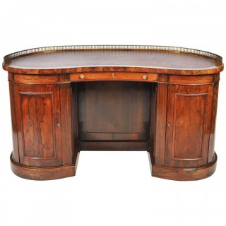 Regency Kidney shape Desk