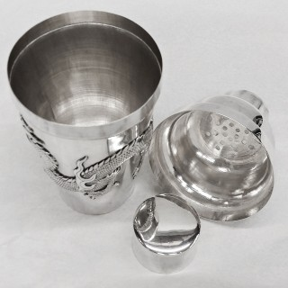 Antique Chinese Silver Cocktail Shaker