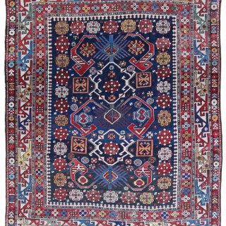 Antique Shirvan rug, Caucasian