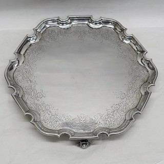 George II Silver Salver