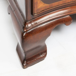 Antique Mahogany George III Serpentine Chest Drawers 18th Century