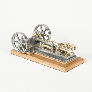 A WORKING MODEL OF A MILL STEAM ENGINE