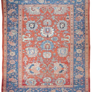 Rare Antique Ziegler carpet