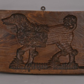 Antique Treen 19th Century Ash Gingerbread Mould