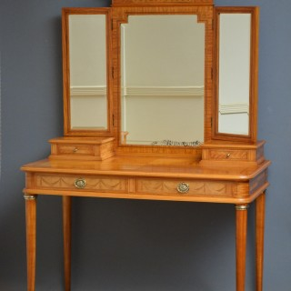Turn of the Century Satinwood Dressing Table