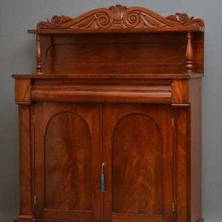 Early Victorian Mahogany Chiffonier