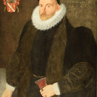 PORTRAIT OF RICHARD WAUGH AGED 56