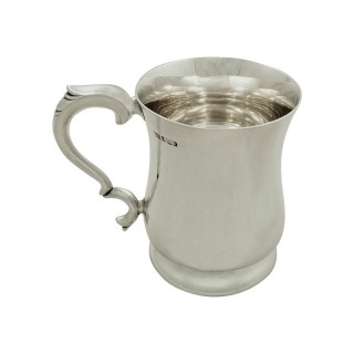 Antique / Vintage Sterling Silver Mug / Tankard 1938