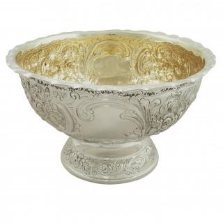 Antique Sterling Silver Presentation Bowl 1901