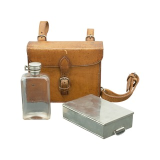 Sandwich Case & Spirit Flask