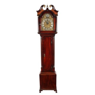 Georgian Scottish Grandfather Clock