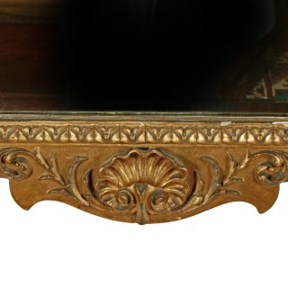 George II Style Gilt Wall Mirror