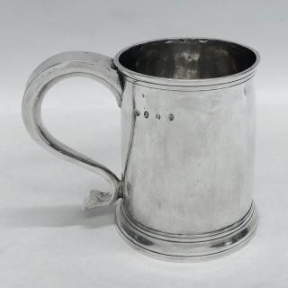 Large George I Silver Mug