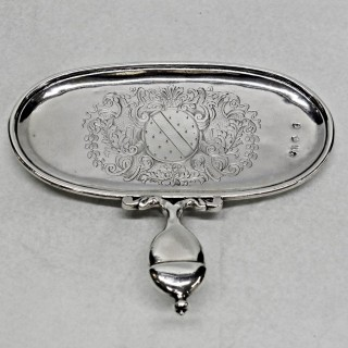 Queen Anne Silver Snuffer Stand
