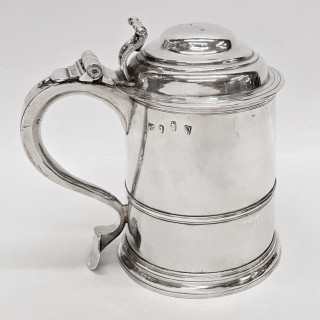 Antique George I Silver Tankard