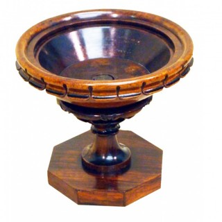 19th Century Regency Rosewood Antique Table Urn Tazza
