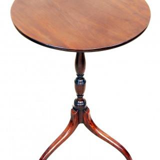 English Regency Mahogany Antique Wine Table